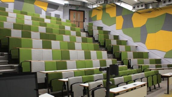 Cardiff Uni Lecture Theatre