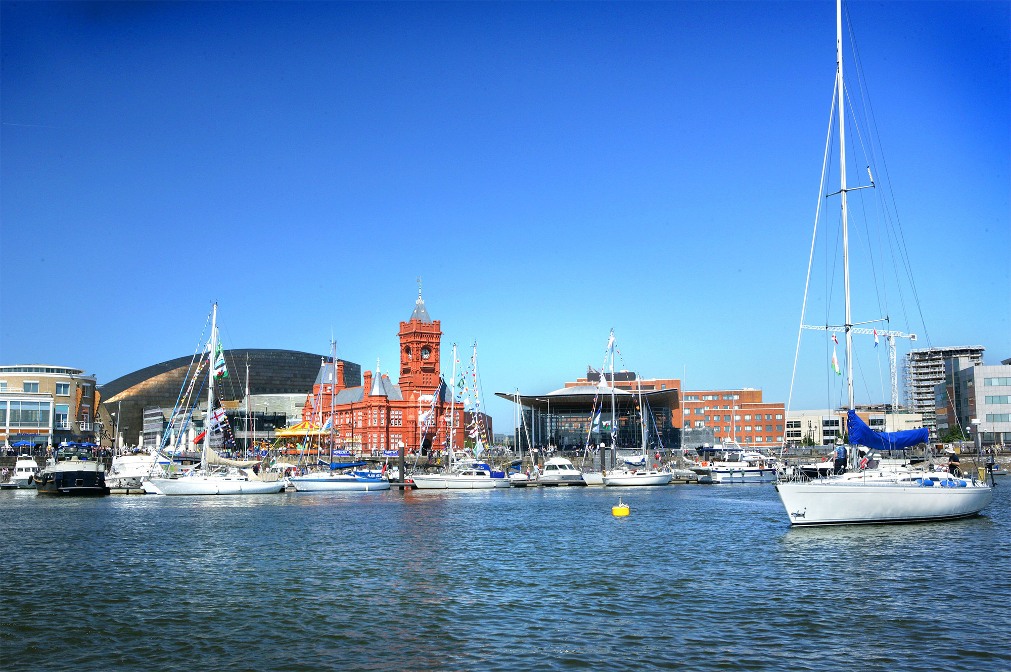Cardiff Bay Waterfront